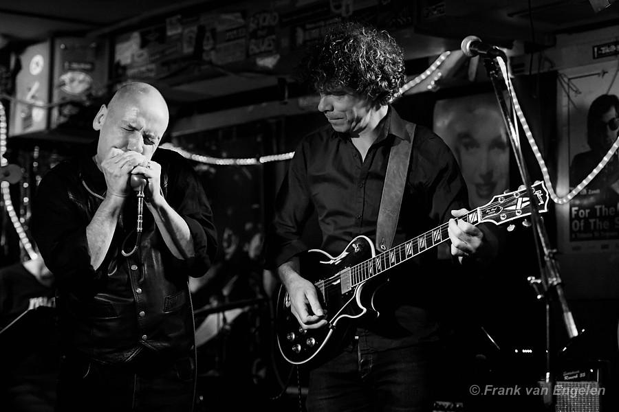 The Amsterdam Blues Company in Blueacafe Maloe Melo te Amsterdam