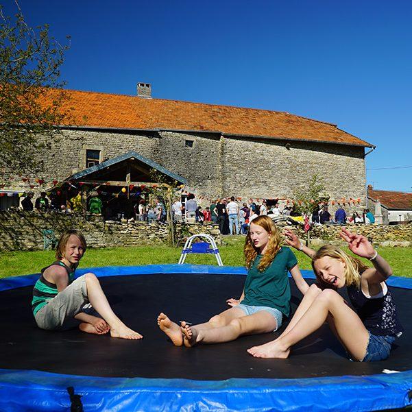 Mille Reves - trampoline